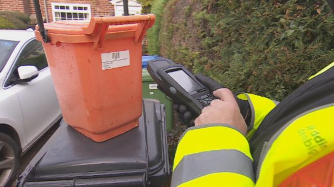 Waste Bin Chipping