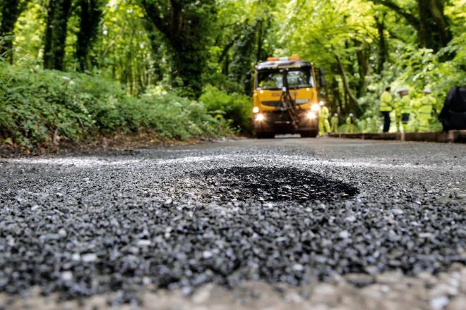 Intelligent Pothole Cameras
