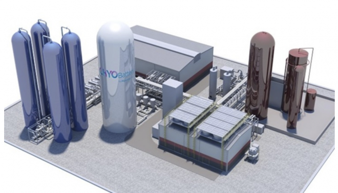 World's Largest Liquid Air Battery