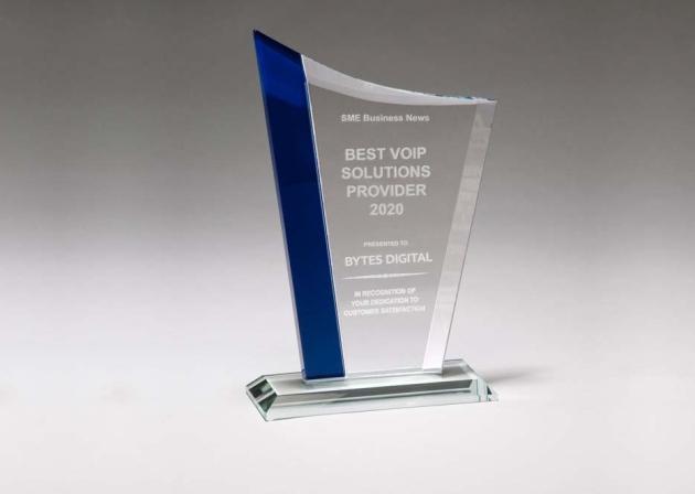 Bytes Digital Named Best VOIP Provider