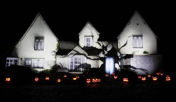 Samsung's Halloween SmartThings Tech Display