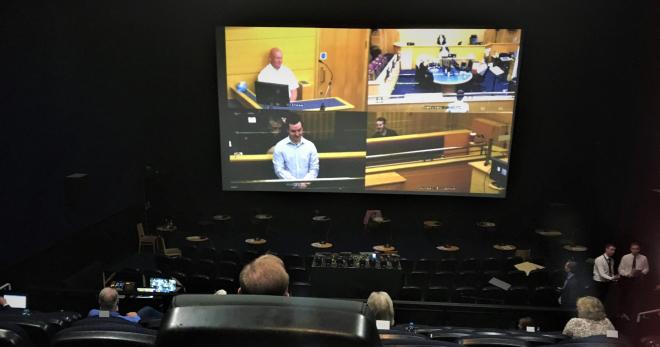 Glasgow Court Remote Jury