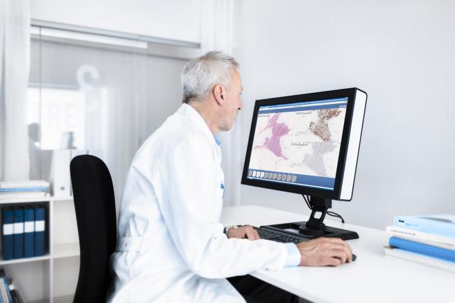 Leeds Teaching Hospital Pathology Network Uses AI