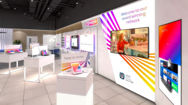 Sky Retail Shop Comes to Liverpool