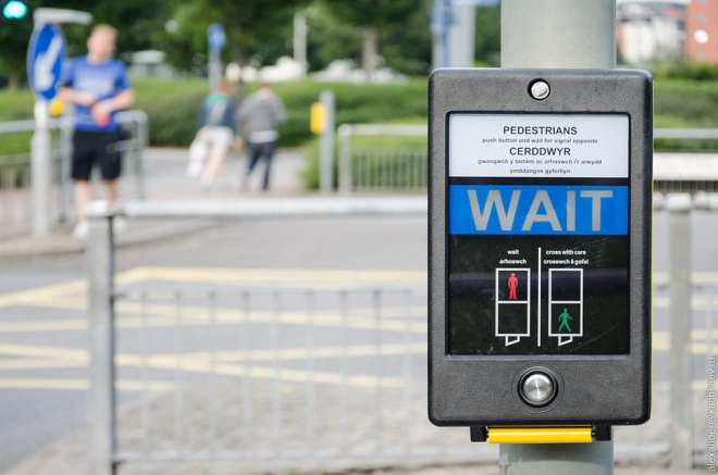Pedestrian Crossing Touchless Technology Trial