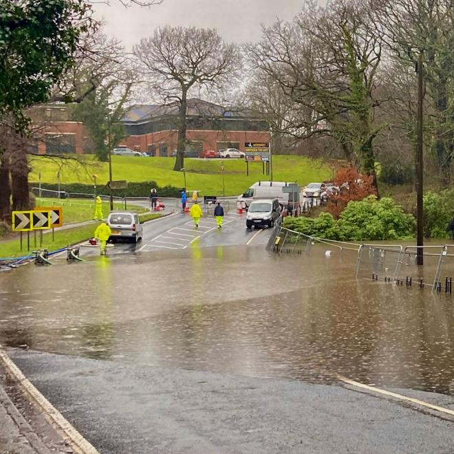 South London Flood Sensor Tech