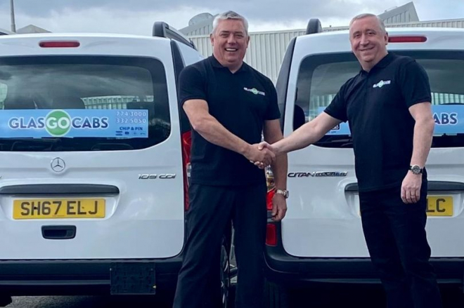Launch of GlasGO Cabs