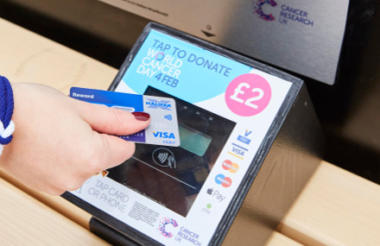 Contactless Giving for Stratford Homeless
