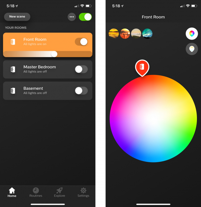 Using Smart Lights as Home Security is Improved by Philips Hue App Update