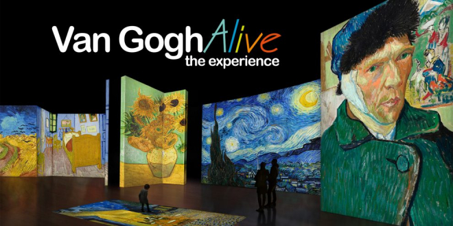 Van Gogh Art Comes to Life in Manchester