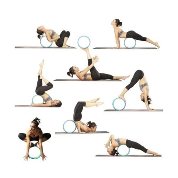 What are the benefits of using a yoga wheel?