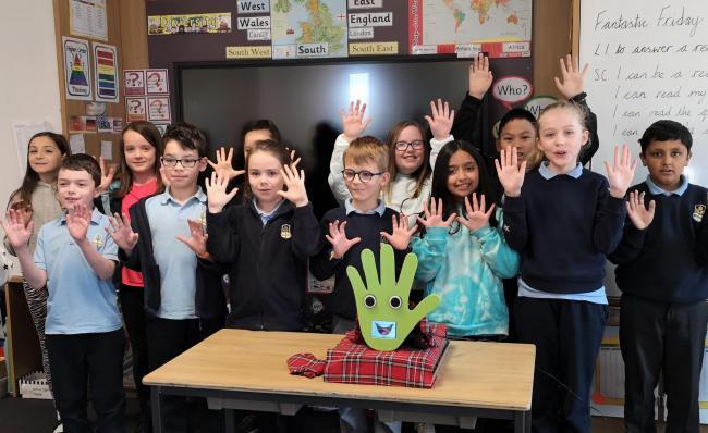 WallBo The Robot Assists Glasgow Teachers