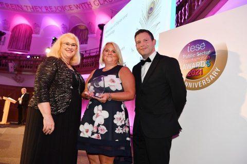Gold Digital and Technology Award for Blackburn with Darwen Council