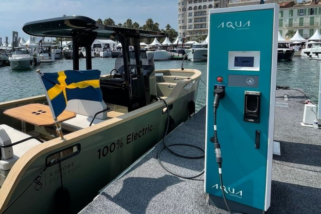Plymouth Electric Boat Charging Points