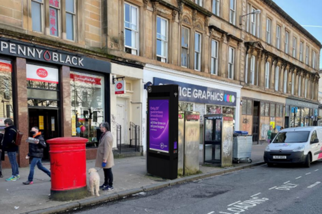 Hi-tech Tablets to Replace Old Glasgow Phone Boxes