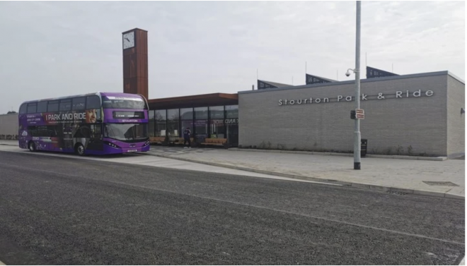 Leeds Solar Powered Park and Ride