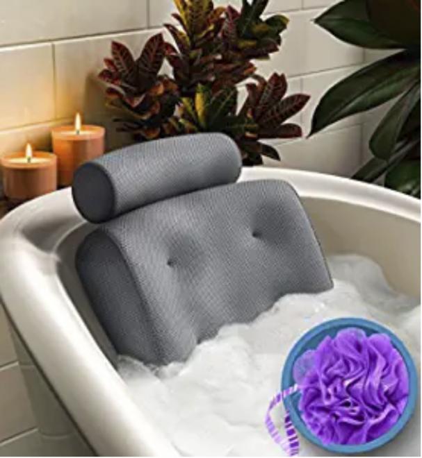 Benefits of Bath Tub Pillow
