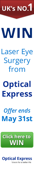 win laser eye surgery from Optican Express
